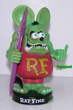 "FUNKO Wacky Wobbler RAT FINK with Surf Board California Big ""Daddy"" Ed Roth"
