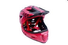 CIGNA TT32 Kids Cycling Bike Helmet 2 in 1 Half/Full-Face Detachable Red S-size