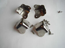 Cabinet corners 3 ears set of 4 w/screws
