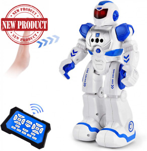 English Speaking RC Robot Toy Remote Control Gift Kids USB Charging 50 Actions