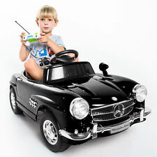Kids Ride on Car Child Toddler Electric Battery Powered Riding Toy Black BENZ