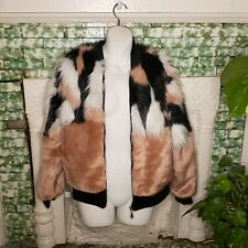 NWT faux fur jacket size medium Say What brand open to offers