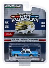 1:64 GreenLight *HOT PURSUIT 32* NYPD 1990 Chevrolet Caprice Police Car *NIP*