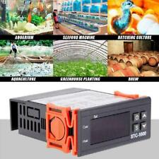 Digital AC 110-220V Temperature Controller Thermostat STC 1000 Sensor H4R4