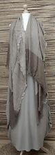 *NEW*OVERSIZE LADIES/MENS SOFT 100% COTTON FRAYED SCARF *Taupe* SCARVES