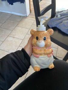 bear soap dispenser