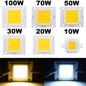 LED Chip COB Lights 100W 50W 30W 20W 10W For Floodlight High Power SMD Bulb Lamp
