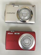 Nikon Coolpix Digital Camera Lot s4000 s203 UNTESTED, AS-IS