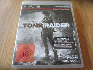 Tomb Raider - Playstation 3 - deutsche Version
