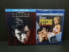 Psycho (Blu-ray, Digital) w/ Rare Exclusive Slipcover. 60th Anniversary. New
