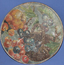 Antique oil painting fruits