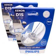 2x D1S PHILIPS WhiteVision gen2 5000K LED Effekt 85415WHV2S1 85V Lampe Set