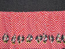 SMOCKING MINNIE MOUSE DISNEY DOTS Pre-Hemmed COTTON FABRIC Priced By The YARD
