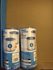 Summer Waves 2 Pack x2 (4) I Type Filter Cartridge Pools Hot Tubs Supplies