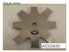 LAMA DISCO NEW MACINONE LIGHT DECESPUGLIATORE DIAMETRO 24,6MM ACCIAIO LEGGERO