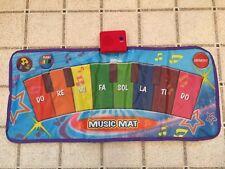 Kids Musical Piano Floor Mat Dance Fold Away Keyboard