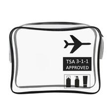 Unisex TPU Transparent Travel Makeup Toiletry Case Pouch Organizer Cosmetic Bag