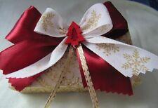Geschenkbox Schachtel Geldgeschenk Verpackung Weihnachten Geschenk Box gold