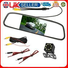 4.3 inch Car Mirror Monitor Auto Parking System with 8LED Rear View Camera