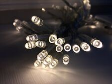 50 LED Fairy Christmas Lights 3 Colours Battery Operated Warm White