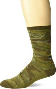 Neff Men's Daily Jacquard Socks Nu Camo Green Footwear Active Sports Skateboa...