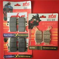 XSR 900 16 > FZ1 1000 FAZER 06 > Front & Rear Set Brake Pads SBS DUAL CARBON