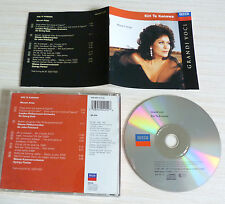 CD ALBUM CLASSIQUE JAZZ GRANDI VOCI KIRI TE KANAWA MOZART ARIAS 10 TITRES 1993