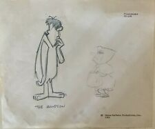 "Flintstones Original production drawing 1962 Fred ""El Terrifico"""