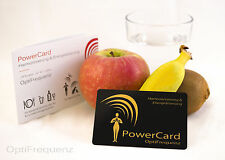 PowerCard - Wasser & Nahrungsmittel Harmonisierung/Energetisierung OptiFrequenz
