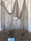 Внешний вид - 5'x10' Decorative Fish Net ~ Brown Netting ~Luau Decor, Nautical Photo Prop