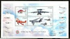 India 2007 75 Years of Air Force Fighter Aircraft Sc 2212a M/s MNH # P2310