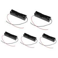 5pcs Single Slot Battery Holder Power Bank Plastic Storage Shell Box Case