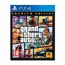 GTA 5 PREMIUM EDITION PS4 - NUOVO - COPERTINA UK - GIOCO ITA