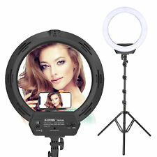 ZOMEI LED Ring Light Photography Dimmable Lighting kit for Makeup Camera YouTube