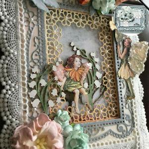 Lace Frames Embossing Paper Flowers Cards Making Stencils Cutting Dies Metal DIY