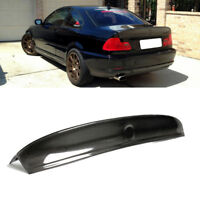 Fits BMW E46 M3 Coupe 2000-2006 Rear Trunk Spoiler Lid Boot Wing Carbon Fiber