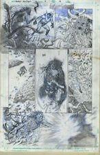 Lan Medina Black Panther & The Agents of Wakanda #4 P.13 Original Art