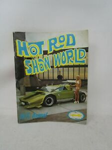 Vintage 1975 Annual *HOT ROD SHOW WORLD WESTERN PUBLICATION* WITH BALLOT