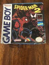 Spider-Man 2 (Nintendo Game Boy, 1992) No Manual, Box damage