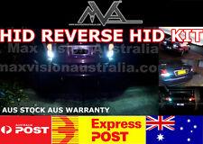 REVERSE HID 15W XENON KIT WHITE BACKUP LIGHT T15 T20 T25 S25 UNIVERSAL FIT