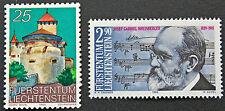 LIECHTENSTEIN - timbre/stamp Yvert et Tellier n°903 à 904 n** (cyn5)