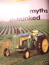 John Deere Model 730 Tractor 1959 - 1970 - February 2001 Green Magazine