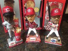 Cincinnati REDS 2010/2011 Bobblehead LOT - Rolen, Baker, Gomes - SGA NIB