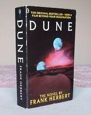 Frank Herbert DUNE (Film tie-in edition) 1984 pb
