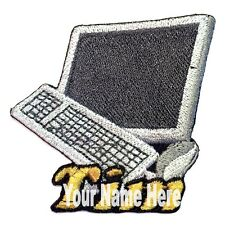 Computer Custom Iron-on Patch With Name Personalized Free
