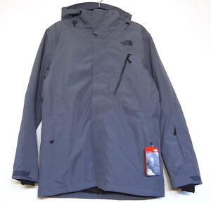 The North Face Men's DESCENDIT Insulated DryVent Ski Snowboarding Jacket Grey M