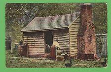Vintage postcard , LISA AT THE TUB, NORTH AMERICA
