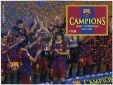 Prueba conmemorativa Champions FCBARCELONA fcb stamps Football  futbol Mesi