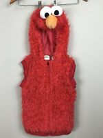 SESAME STREET ELMO HALLOWEEN COSTUME VEST 3T - 4T BOYS OR GIRLS Jacket