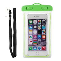 Waterproof Underwater Float Pouch Bag Case For Cell Phone iPhone 6 6 S Plus 5 S